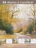 Geoff Kersey - Arbres, bois et forêts à l'aquarelle.