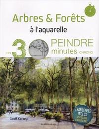 Geoff Kersey - Arbres & forêts à l'aquarelle.