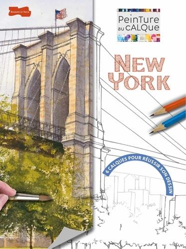 Geoff Kersey - New York à l'aquarelle.