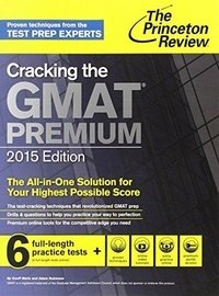 Geoff Martz et Adam Robinson - Cracking the GMAT Premium.