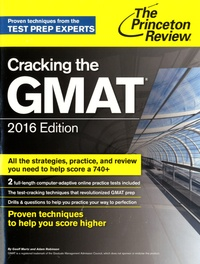 Geoff Martz et Adam Robinson - Cracking the GMAT.