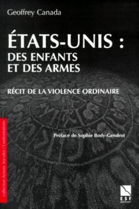 ETATS-UNIS, DES ENFANTS ET DES ARMES. - Récit de la violence ordinaire.pdf