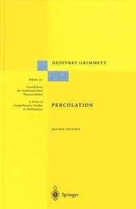 Geoffrey Grimmett - Percolation.