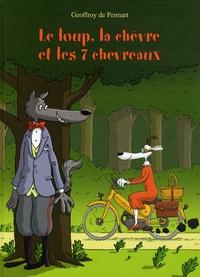 Geoffroy de Pennart - Les Loups (Igor et Cie)  : Le loup, la chèvre et les 7 chevreaux.