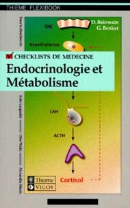 Georg Benker et Dankwart Reinwein - Endocrinologie et métabolisme.