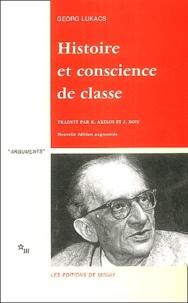 Georg Lukacs - Histoire et conscience de classe - Essais de dialectique marxiste.