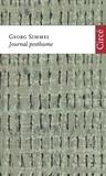 Georg Simmel - Journal posthume.