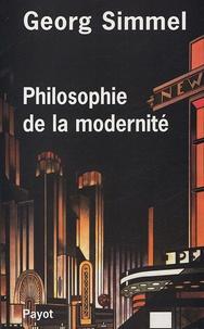 Georg Simmel - Philosophie de la modernité.
