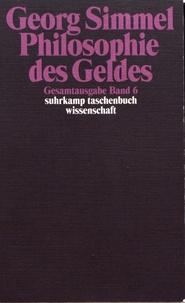 Georg Simmel - Philosophie des Geldes.