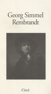 Georg Simmel - Rembrandt.