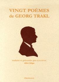 Georg Trakl et  Guillevic - Poèmes - Edition bilingue français-allemand.