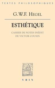 Esthétique - Cahier de notes inédit de Victor cousin.pdf