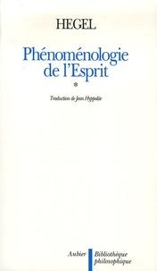 Georg Wilhelm Friedrich Hegel - Phénoménologie de l'Esprit en 2 volumes.