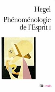 Histoiresdenlire.be Phénoménologie de l'esprit. - Tome 1 Image