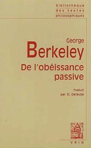 George Berkeley - De l'obéissance passive.