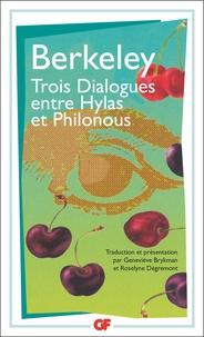 George Berkeley - Trois dialogues entre Hylas et Philonous.
