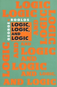 LOGIC LOGIC AND LOGIC - George Boolos pdf epub
