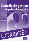 George Foster et Srikant Datar - Contrôle de gestion et gestion budgétaire.