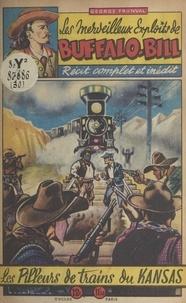 George Fronval et  Brantonne - Les pilleurs de trains du Kansas.
