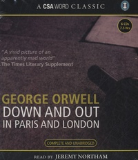 George Orwell - Down and Out in Paris and London. 6 CD audio