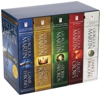 George R. R. Martin - A Game of Thrones : A song of Ice and Fire  : Box set 5 books : A Game of Thrones ; A Clash of Kings ; A Storm of Swords ; A Feast for Crows ; A Dance with Dragons.