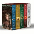George R. R. Martin - Game of Thrones 5-Copy Boxed Set - A Game of Thrones, A Clash of Kings, A Storm of Swords, A Feast for Crows, and A Dance with Dragons.