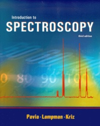 Deedr.fr Introduction to Spectroscopy. 3rd edition Image