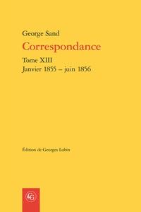 Deedr.fr Correspondance - Tome XIII, Janvier 1855 - juin 1856 Image