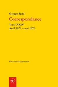 Deedr.fr Correspondance - Tome XXIV, Avril 1874 - mai 1876 Image