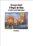 George Sand - L'Orgue du Titan et autres récits fantastiques.