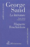 George Sand - La littérature.