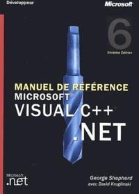George Shepherd - Visual C++ .NET - Manuel de référence.
