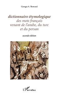 Birrascarampola.it Dictionnaire étymologique des mots français venant de l'arabe, du turc et du persan Image