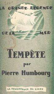 Georges Abric et Pierre Humbourg - Tempête.