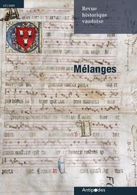 Georges Andrey et Jean-Pierre Bastian - Revue historique vaudoise, n°127/2019 - Mélanges.