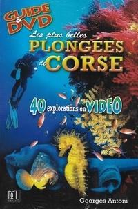 Georges Antoni - Les plus belles plongées de Corse. 1 DVD