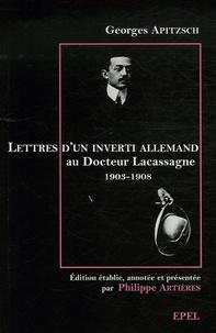 Coachingcorona.ch Lettres d'un inverti allemand au docteur Alexandre Lacassagne (1903-1908) Image