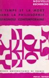 Georges Bastide et Juan Cobos - Le temps et la mort dans la philosophie espagnole contemporaine.