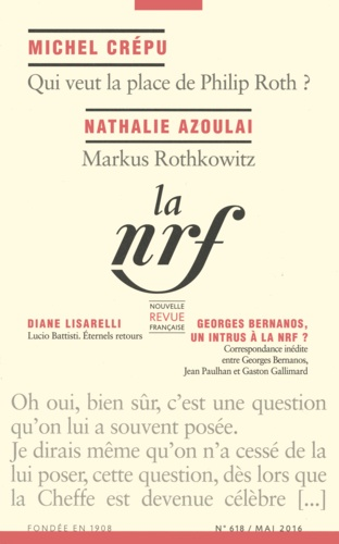 Bernanos, un intrus à la NRF ? Correspondance inédite