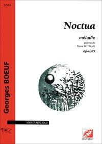 Georges Boeuf et Pierre Beltrame - Noctua - mélodie opus 89.