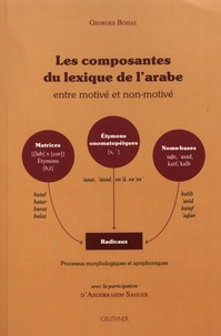 Georges Bohas - Les composantes du lexique de l'arabe - Entre motivé et non-motivé.