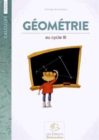 Georges Boulestreau - Géométrie au cycle 3.