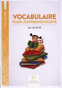 Georges Boulestreau - Vocabulaire pour l'expression écrite.