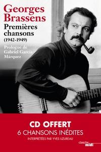 Georges Brassens - Premières chansons (1942-1949). 1 CD audio