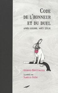 Code de lhonneur et du duel - Après guerre, août 1914.pdf