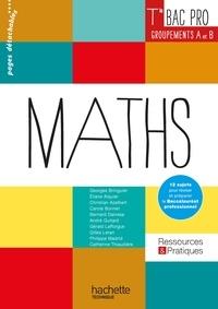 Georges Bringuier et Eliane Alquier - Mathématiques Tle Bac Pro Groupements A et B - Livre de l'élève.