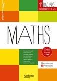 Georges Bringuier et Eliane Alquier - Maths 1e Bac Pro - Groupements A et B.