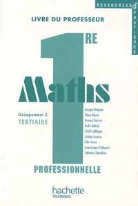 Georges Bringuier et Eliane Alquier - Maths 1e professionnelle groupement C Tertiaire, Ressources et pratiques. 1 Cédérom