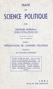 Georges Burdeau - .