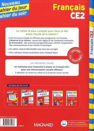 Cahier du jour/Cahier du soir Français CE2 + mémento  Edition 2019